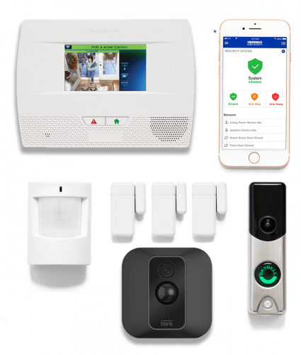 Home Shield Alarm Security Panel