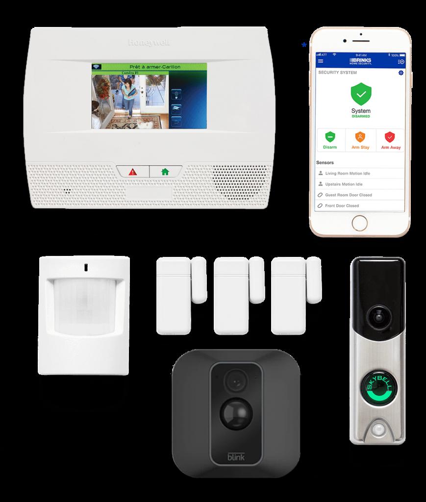 Home Shield Alarm Security Panel