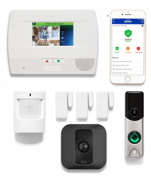 Home Shield Alarm Security Package
