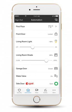 Smart home automation application