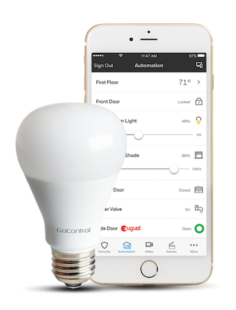 Smart lighting application